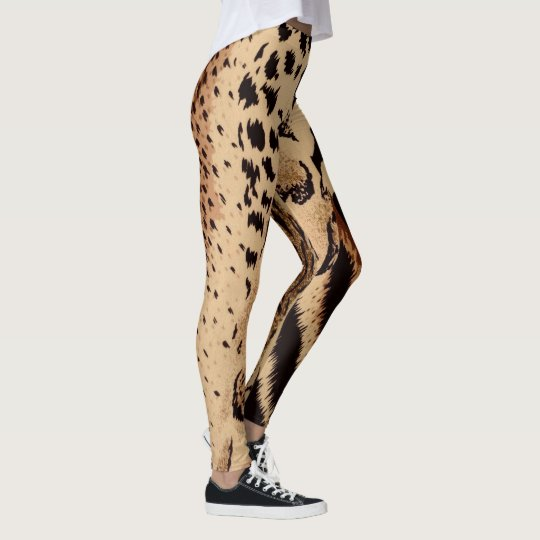 Cheetah Leopard Zebra & Tiger Animal Print Leggings