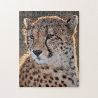 Cheetah looking away jigsaw puzzle