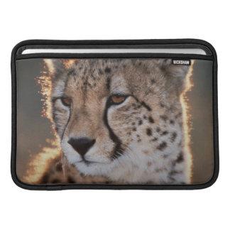 Cheetah looking away sleeve for MacBook air