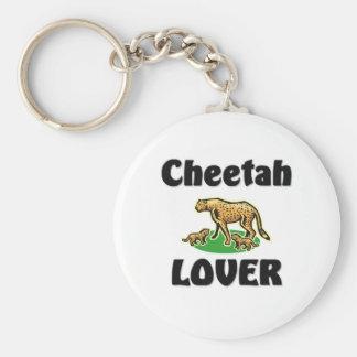 Cheetah Lover Keychain