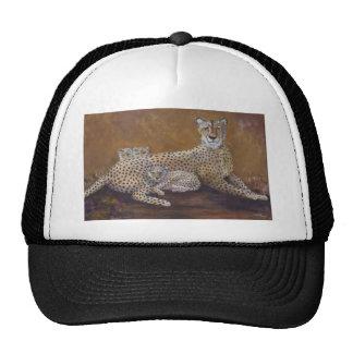 Cheetah Mesh Hats