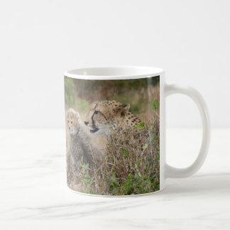 Cheetah Mother and Cub Mugs