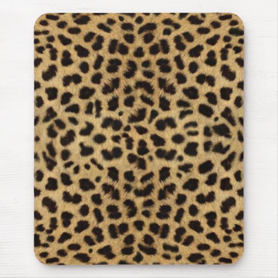cheetah mouse mat