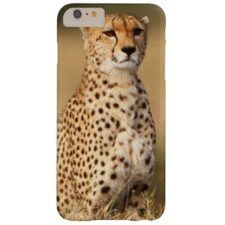 Cheetah on small mound for better visibility barely there iPhone 6 plus case