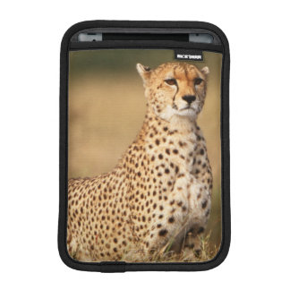 Cheetah on small mound for better visibility iPad mini sleeve