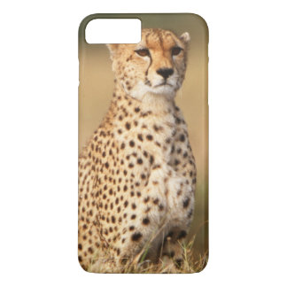 Cheetah on small mound for better visibility iPhone 8 plus/7 plus case