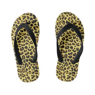 cheetah pattern flip flops