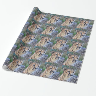 Cheetah Photo Wrapping Paper