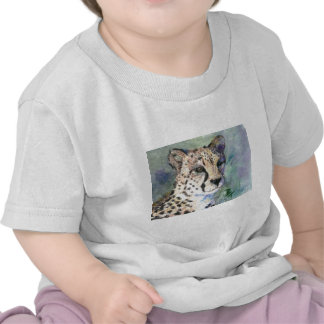 Cheetah Portrait aceo Toddlers Tshirt