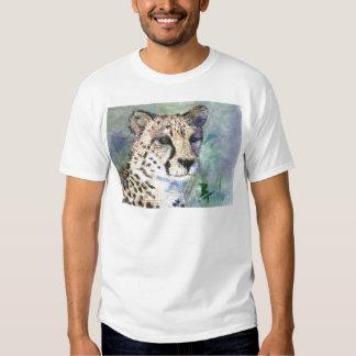 Cheetah Portrait aceo Tshirt