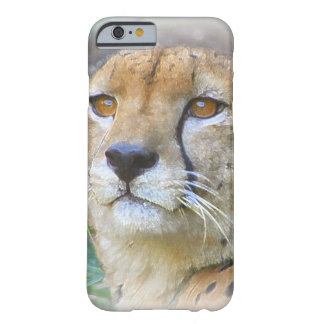 Cheetah portrait barely there iPhone 6 case