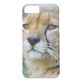 Cheetah portrait iPhone 8/7 case