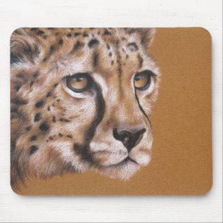 Cheetah Portrait Original Drawing Mousepad