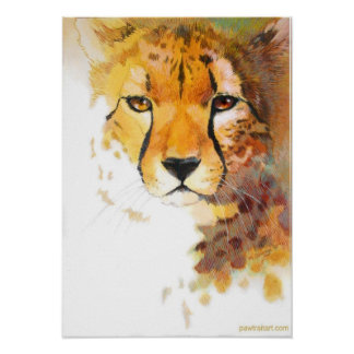 Cheetah! Posters