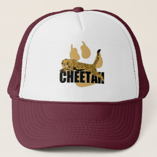 Cheetah Power Trucker Hat