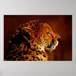 Cheetah pride posters