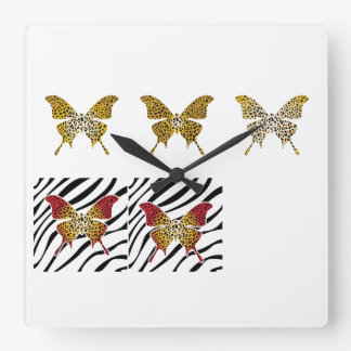Cheetah Print, Acrylic Wall Clock
