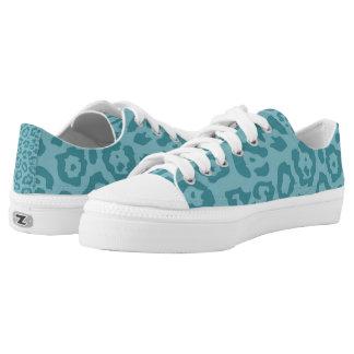 Cheetah Print Aqua (5) Printed Shoes