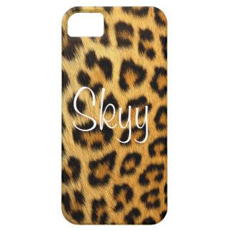 Cheetah Print Leopard Print iPhone 5 Cover