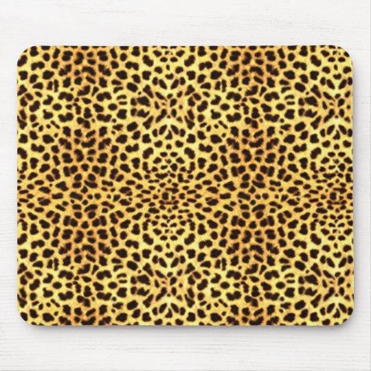 Cheetah Print Mouse Mat