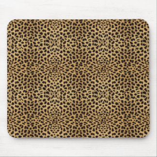 Cheetah Print Mousepad