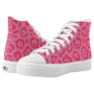 Cheetah Print Pink (6) Printed Shoes
