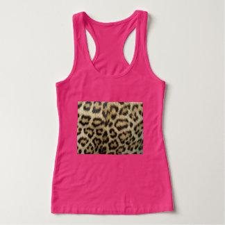 Cheetah Print Pink Tank Top