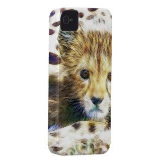 Cheetah Print  Wild Animal iPhone 4 Covers