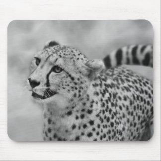 Cheetah profile mouse mat