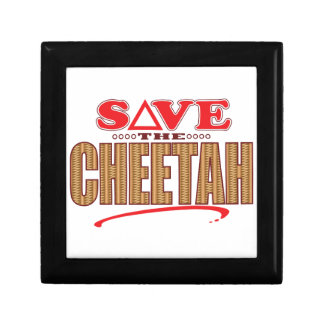 Cheetah Save Gift Box