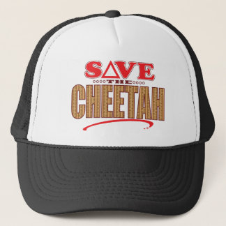 Cheetah Save Trucker Hat