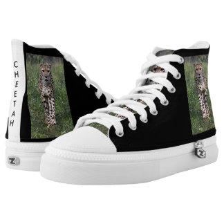 Cheetah shoes printed shoes