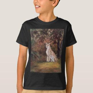Cheetah Sitting Proud Boys Tshirt