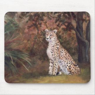 Cheetah Sitting Proud Mousepad