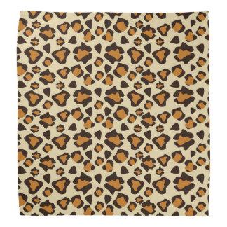 Cheetah skin pattern head kerchief