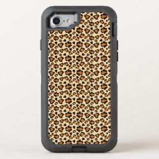 Cheetah skin pattern OtterBox defender iPhone 8/7 case