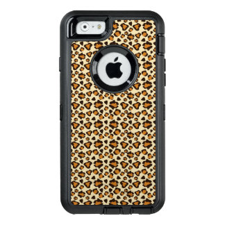 Cheetah skin pattern OtterBox defender iPhone case