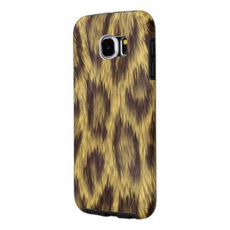 Cheetah Skin Print Samsung Galaxy S6 Cases
