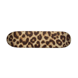Cheetah Skin Print Skateboard