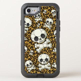 Cheetah Skulls OtterBox Defender iPhone 8/7 Case