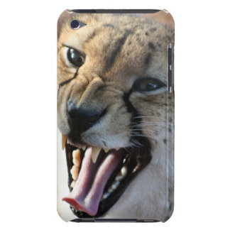 Cheetah Snarl ITouch Case Barely There iPod Covers