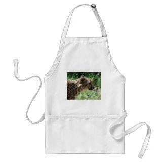 cheetah standard apron