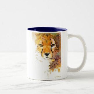 Cheetah! Two-Tone Coffee Mug