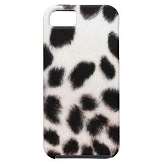 Cheetah White Print iPhone 5 Cover