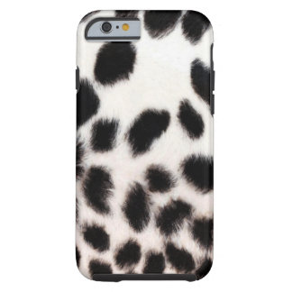 Cheetah White Tough iPhone 6 Case