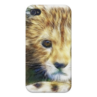 Cheetah Wild Animal iPhone 4 Case