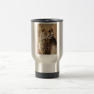 Cheetahs beauty in Africa Travel Mug