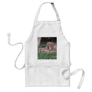 Cheetah's breath standard apron