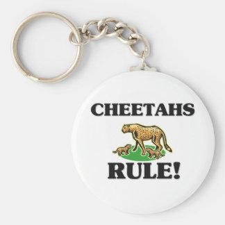 CHEETAHS Rule! Key Chains