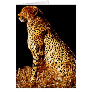 Cheetahs stance card